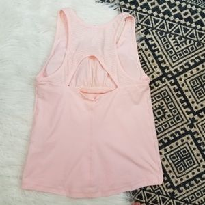 •Under Armour• Light Pink Racer Back Athletic Top